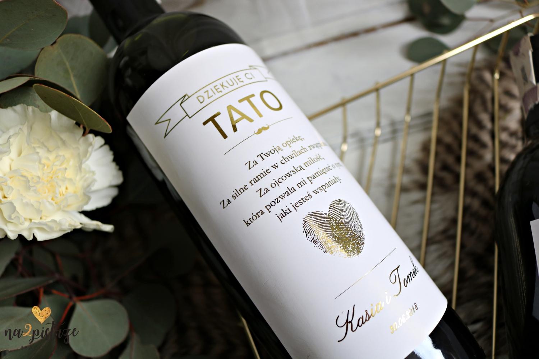 personalizowana etykieta na wino 2