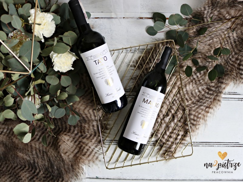 personalizowana etykieta na wino 3