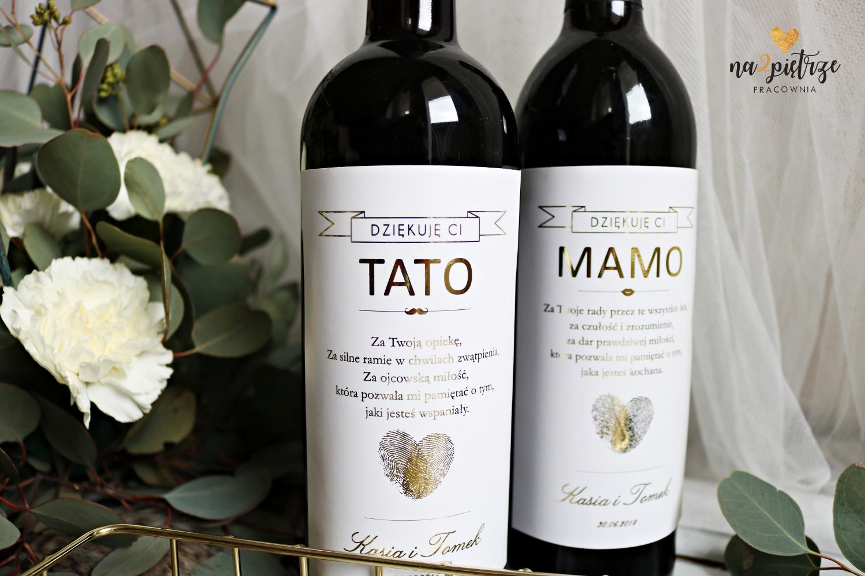 personalizowane etykiety na wino
