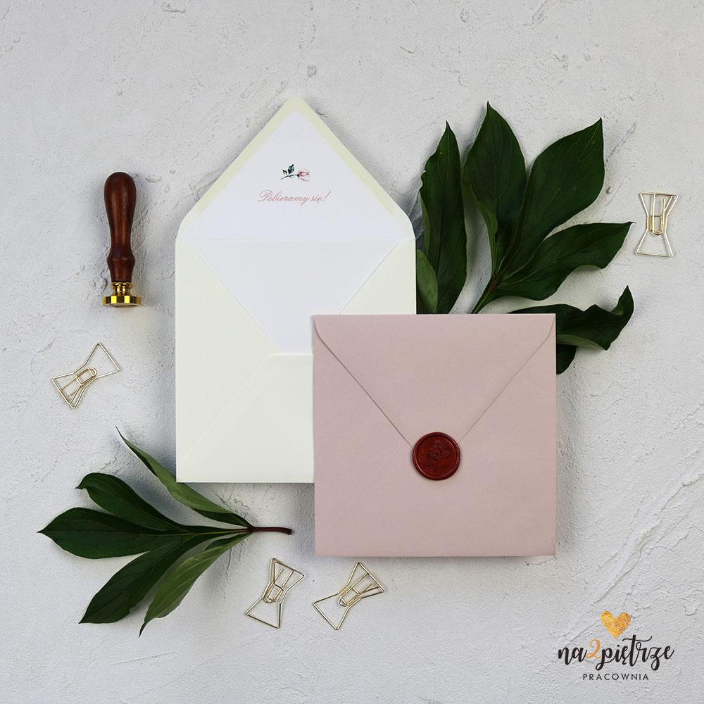 koperty do zaproszeń ślubnych
